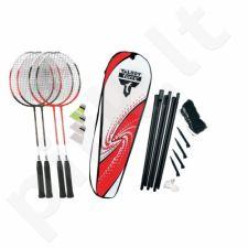 Badmintono rinkinys TALBOT Torro 4-Attacker su tinkleliu