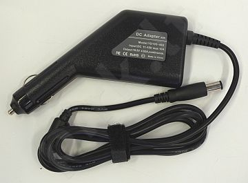 Notebook car power supply  DELL 12V, 90W: 19.5V, 4.62A