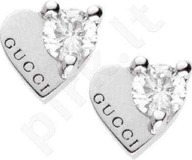 Auskarai GUCCI JEWELS TRADEMARK / White gold and diamonds