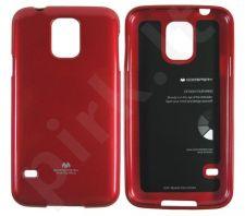 Samsung Galaxy S5 dėklas JELLY Mercury raudonas