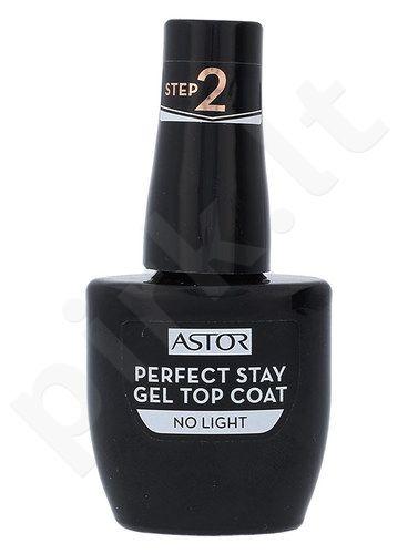 Astor Perfect Stay nagų lakas viršutinis sluoksnis, kosmetika moterims, 12ml, (001 Top Coat)