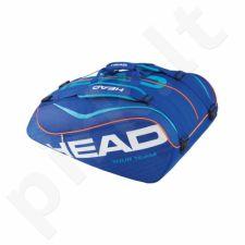 Krepšys tenisui Head Tour Team 12R Monstercombi 283205 mėlyna