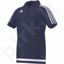 Marškinėliai futbolui Adidas polo Tiro15 climalite Pol Y Junior S22444
