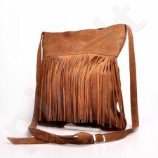 MADE IN ITALY Postino 176 rankinė odinė  ruda