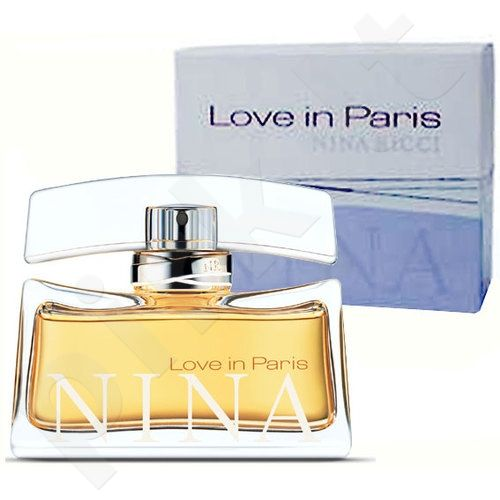 Nina Ricci Love in Paris, kvapusis vanduo moterims, 30ml