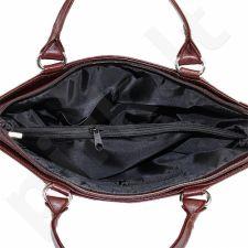 DAN-A T208A konjako spalvos rankinė iš natūralios odos , moteriška