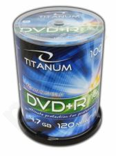 DVD+R TITANUM [ Cake Box 100 | 4,7GB | 16x ]
