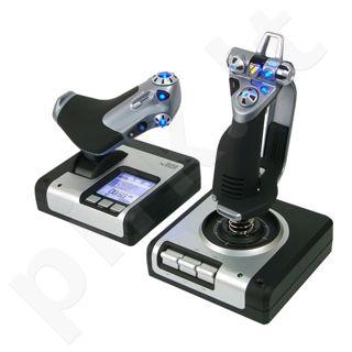 Vairalazdė ir greičio reguliatorius Saitek X52 Digital