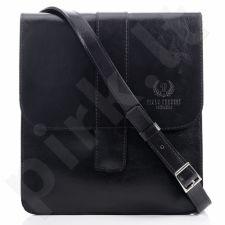 PAOLO PERUZZI juoda rankinė odinė GA23