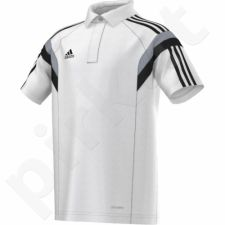 Marškinėliai futbolui polo Adidas Condivo 14 Junior F76961