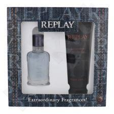 Replay Jeans Spirit rinkinys vyrams, (EDT 30 ml + dušo želė 100 ml)