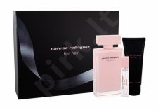 Narciso Rodriguez For Her, rinkinys kvapusis vanduo moterims, ( EDP 100 ml + kūno losjonas 75 ml + EDP 10 ml)