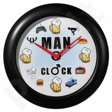 Tikro vyro laikrodis su garsu