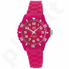 Vaikiškas, Moteriškas laikrodis Q&Q Z101J003Y
