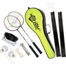 Badmintono rinkinys Allright su tinkleliu