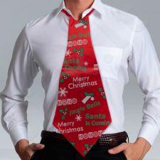 Gigantiškas Kalėdinis kaklaraištis
