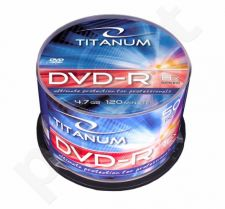 DVD-R TITANUM [ cake box 50 | 4.7GB | 8x ]