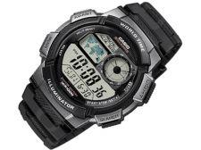 Casio Collection AE-1000W-1AVEF vyriškas laikrodis-chronometras