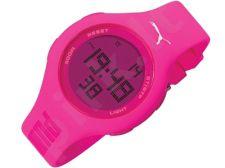 Puma Loop Neon Pink PU910801002 moteriškas laikrodis Chronograph
