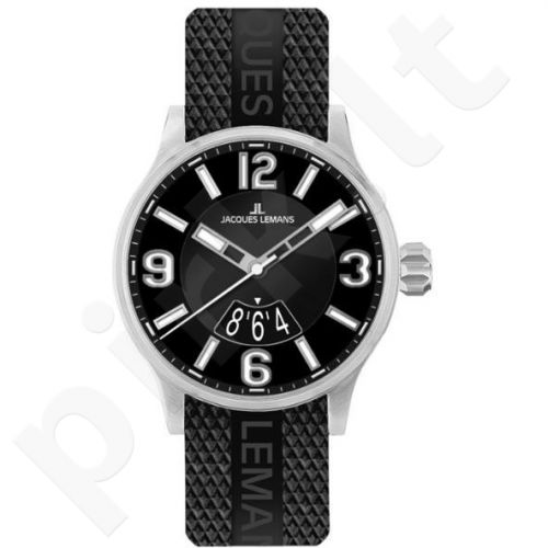 Vyriškas JACQUES LEMANS laikrodis 1-1729A