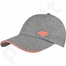 Kepurė  su snapeliu 4f W H4L17-CAD001A pilkas