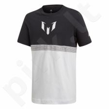 Marškinėliai futbolui adidas Messi Tee Junior CF7004