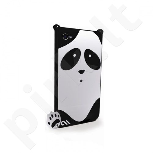 Dėklas Case-Mate Creatures Apple iPhone 4, 4S Juodas (Panda)