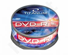 DVD-R TITANUM [ cake box 25 | 4.7GB | 8x ]
