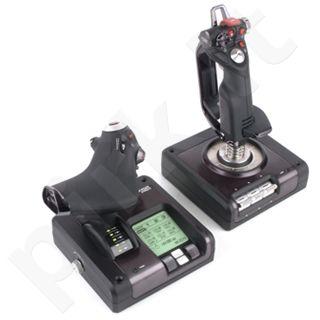 Vairalazdė ir krypčių perdavimo sistema Saitek X52 Pro Flight