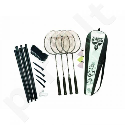 Badmintono rinkinys Talbot 4-Fighter Set