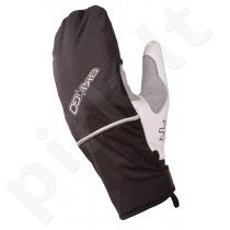 Pirštinės Skigo flexible, black/white