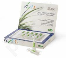 REGENE TRATTAMENTO INTENSIVO ANTICADUTA POLIVALENTE, Polivalentinė plaukų priežiūros priemonė nuo slinkimo, 10 aplikatorių x 6 ml