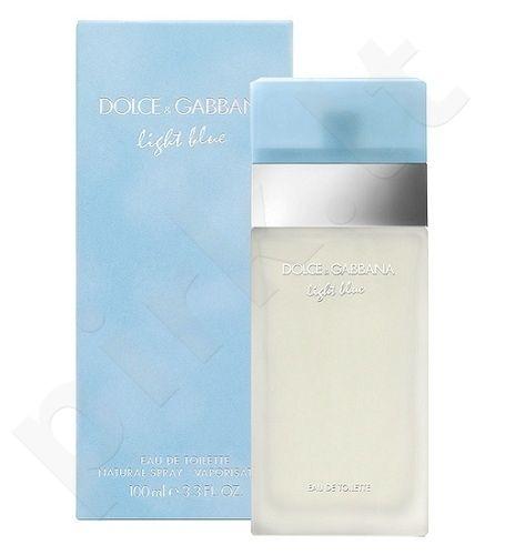 Dolce & Gabbana Light Blue, tualetinis vanduo moterims, 50ml [pažeista pakuotė]