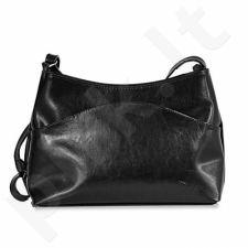 DAN-A T102 juoda rankinė iš natūralios odos , moteriška
