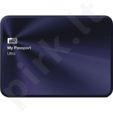 External HDD WD My Passport Ultra Metal Edition 2.5'' 1TB USB3 Blue Black