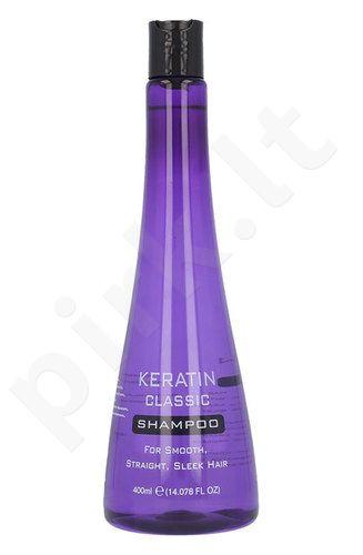 Keratin Classic šampūnas, kosmetika moterims, 400ml