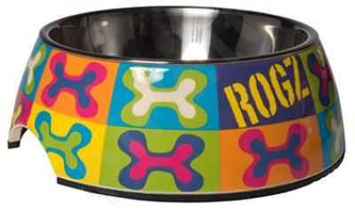 Rogz Dubenėlis Bowzl Medium Dog Pop 350ml