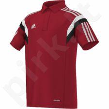 Marškinėliai futbolui polo Adidas Condivo 14 Junior F76959
