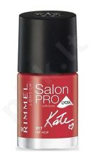 Rimmel London Salon Pro Kate, nagų lakas, kosmetika moterims, 12ml, (127 Gentle Kiss)