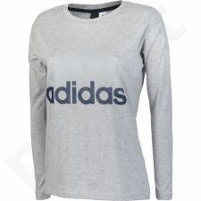 Marškinėliai Adidas Essentials Linear Longsleeve W S97219