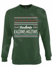 Kalėdinis džemperis su Jūsų pasirinktu vardu (be kapišono)