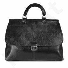 DAN-A T121 juoda rankinė iš natūralios odos , moteriška