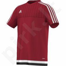Marškinėliai futbolui Tiro 15 Training Jersey Junior M64063