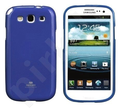 Samsung Galaxy Core 2 dėklas JELLY Mercury mėlynas