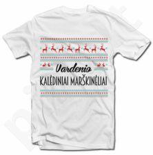 Kalėdiniai marškinėliai su Jūsų pasirinktu vardu