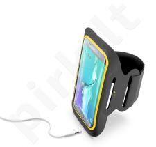 Sportinis dėklas ant rankos Fit 5.5 Cellular juodas