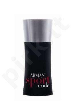 Giorgio Armani Code Sport, tualetinis vanduo (EDT) vyrams, 50 ml