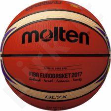Krepšinio kamuolys comp. BGL7X-E7T Euroba2017 nat. oda