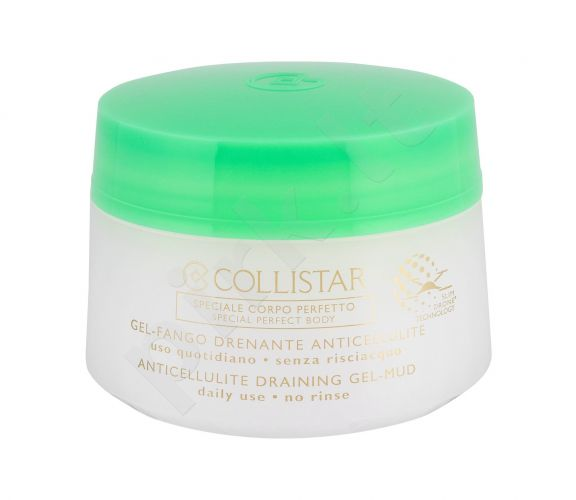 Collistar Special Perfect Body, Anticellulite Draining Gel-Mud, strijoms ir celiulitui moterims, 400ml