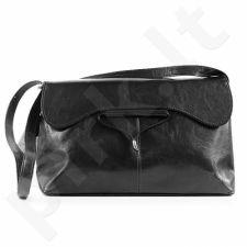 DAN-A T9 juoda rankinė iš natūralios odos , moteriška